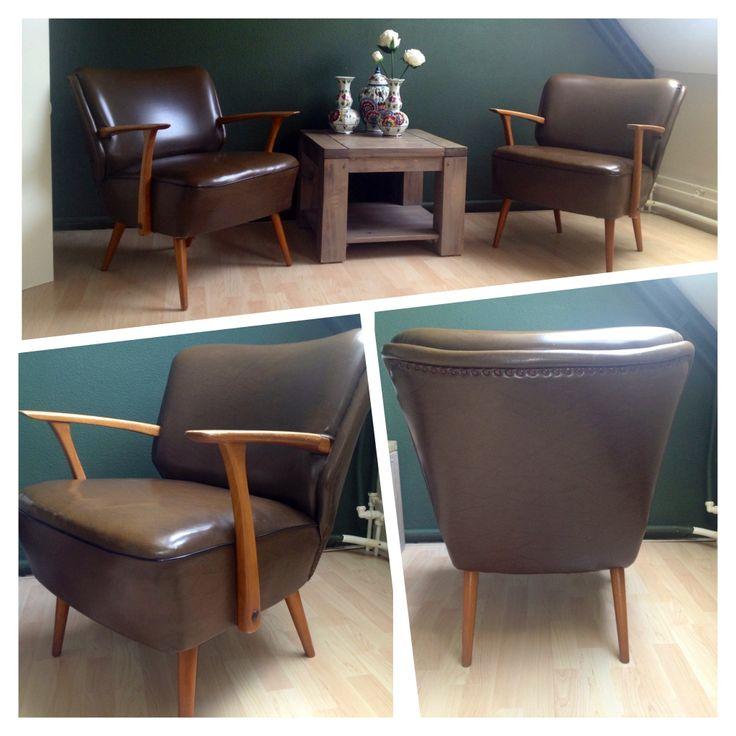 Retro vintage 50s armchair , cocktail chair i love it !!