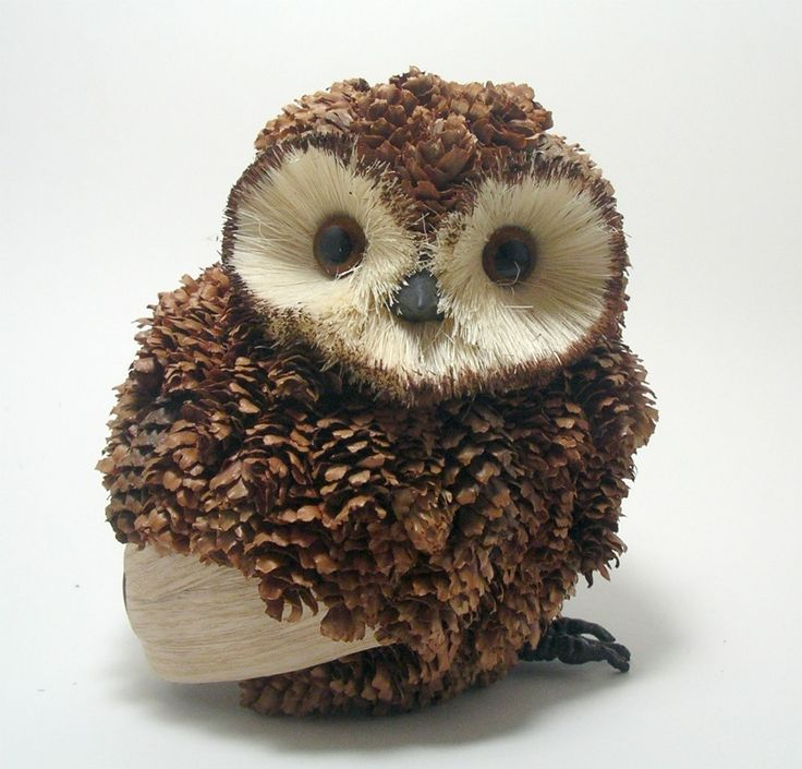 hand decorated portly owl decoration web pic.jpg 962×922 pixels