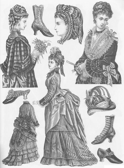 Victorian fashions a pictorial archive 84