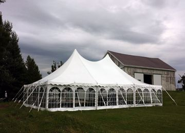 40x60 pole tent rental , party tent rentals in oakville ontario
