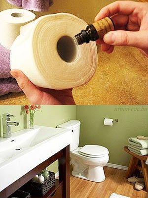 Egyszerű WC-illatosító