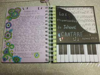Annette Arte y Scrap: Diario Bíblico- Salmos 89: 1
