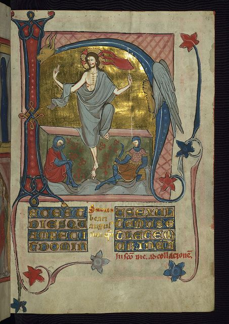Homilary, The Resurrection, Walters Manuscript W.148, fol. 46r by Walters Art Museum Illuminated Manuscripts, via Flickr