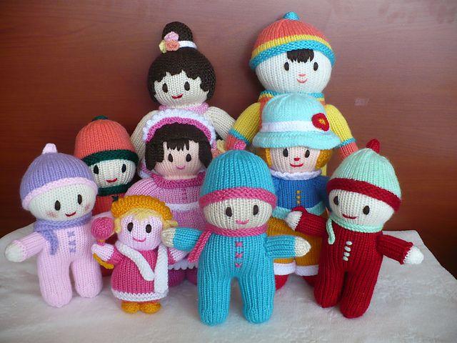 Ravelry: Project Gallery for Rainbow Babies pattern by Jean Greenhowe knitt...