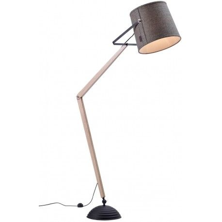Skandynawska drewniana lampa podłogowa Legend marki MarkSlojd. http://blowupdesign.pl/pl/31-wiszace-stojace-lampy-drewniane-design-skandynawski #lampypodłogowe #lampystojące #lampydrewniane #floorlamps #woodenlamps