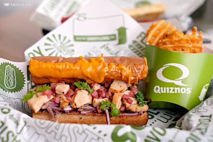 Quiznos is a popular franchised restaurant brand originated from US that is…