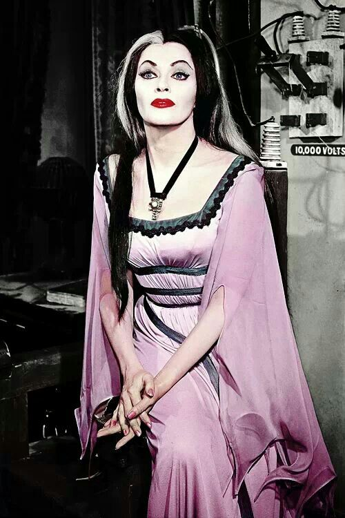 Lily of the  Munsters,  Yvonne De Carlo. 1922-2007  Died at 84 of heart failure.                                                                                                                                                                                 More