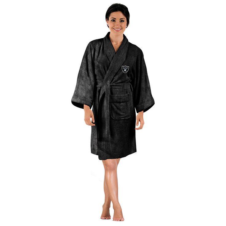Oakland Raiders NFL Silk Touch Womens Bath Robe
