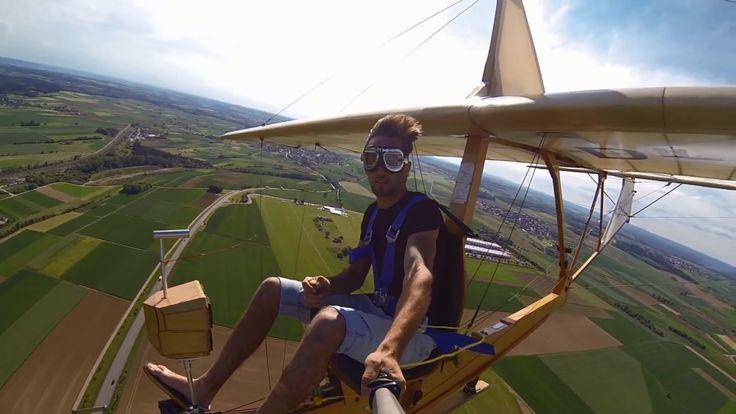 Veja como é divertido voar num planador nazista de 1938 [Vídeo]