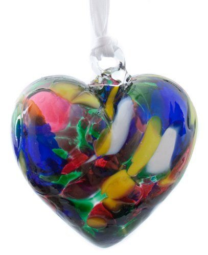 Small Multi-Colour Handmade Recycled Glass Ornamental Friendship Heart  Price : £9.99 http://www.bronzebarngallery.com/Multi-Colour-Handmade-Recycled-Ornamental-Friendship/dp/B008V9HFWI