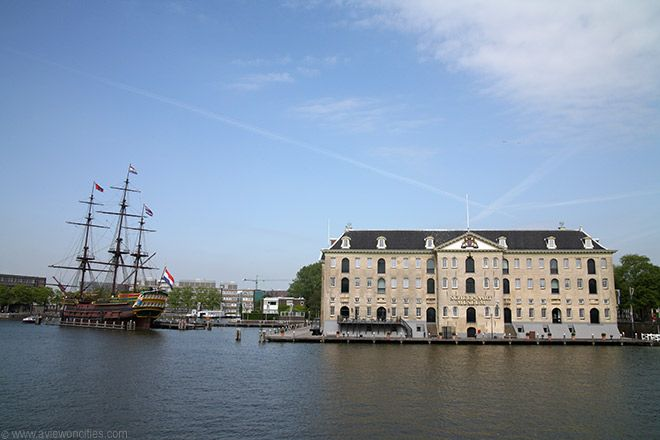 Maritime Museum and the 'Amsterdam'