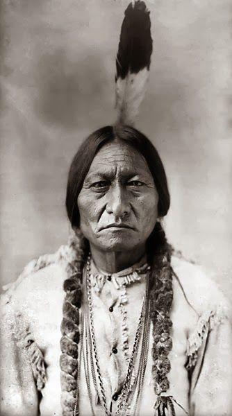 TATANKA IYOTANKA Toro Sentado o Sitting Bull (1831-1890)