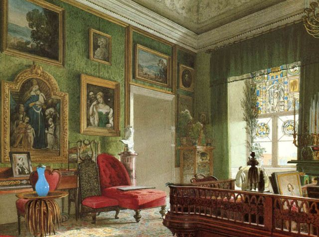 306 best 19th century interior painting images on ...
