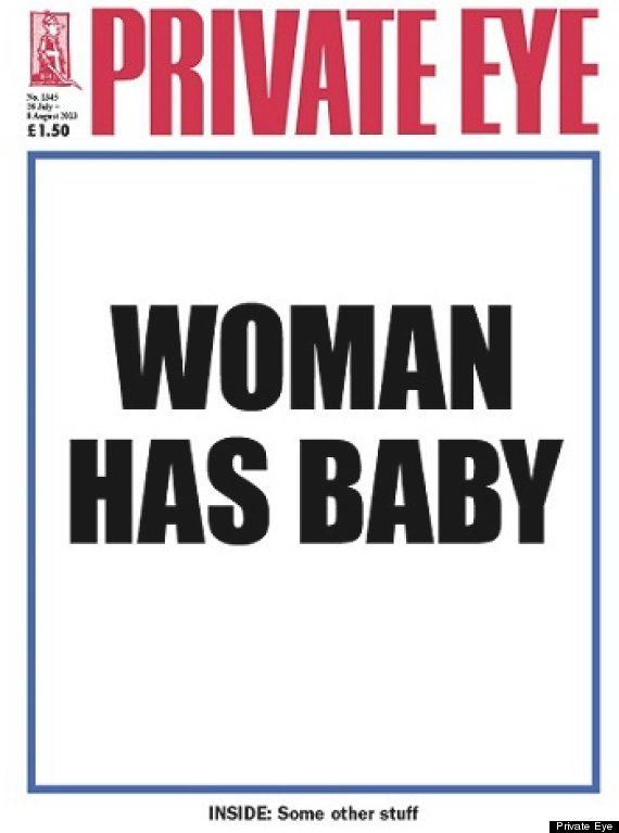 Private Eye tells the world what we already know.