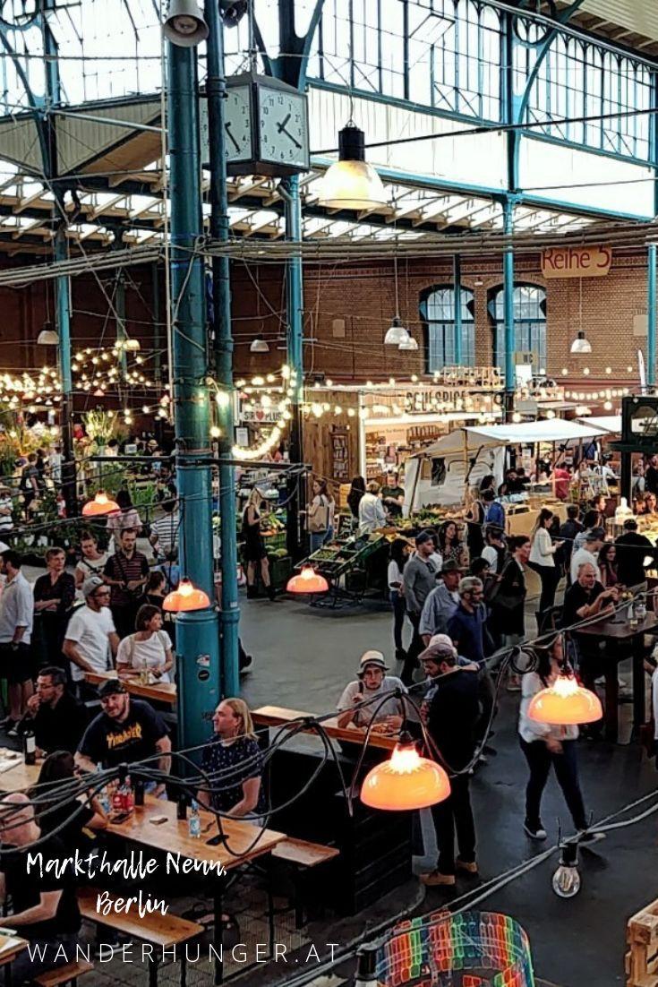 La Markthalle Neun à Berlin Kreuzberg est un véritable atout pour les …