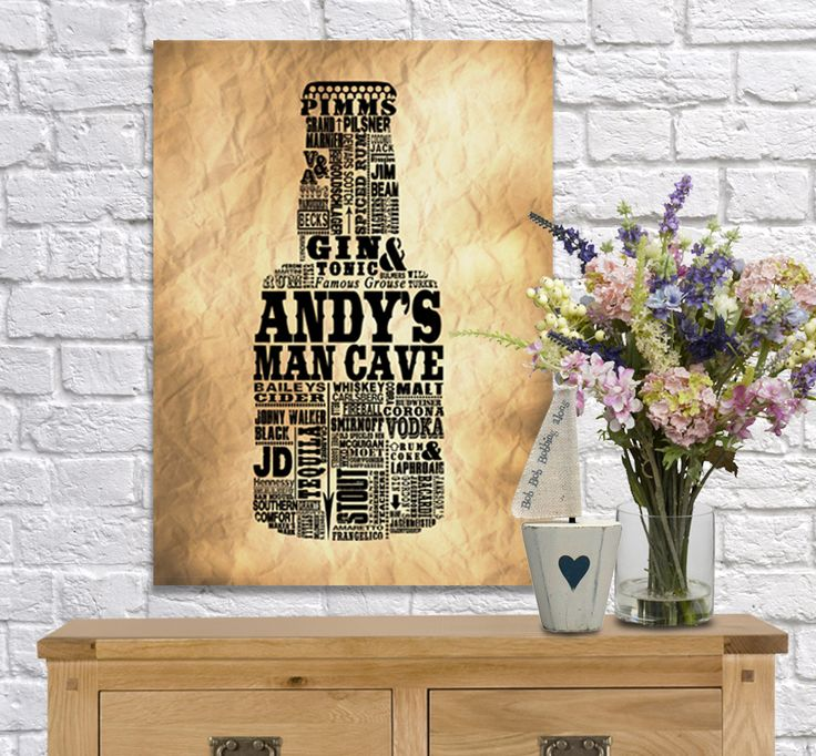 8 best Beer word art canvas images on Pinterest | Canvas prints, Man ...