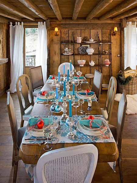 Pictures of Country Christmas Decorating | ... Chalet Christmas Decoration, 15 Charming Country Home Decoration Ideas