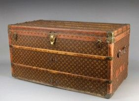 Old Louis Vuitton trunks make me swoon, even if they are selling for higher and higher prices at auction.