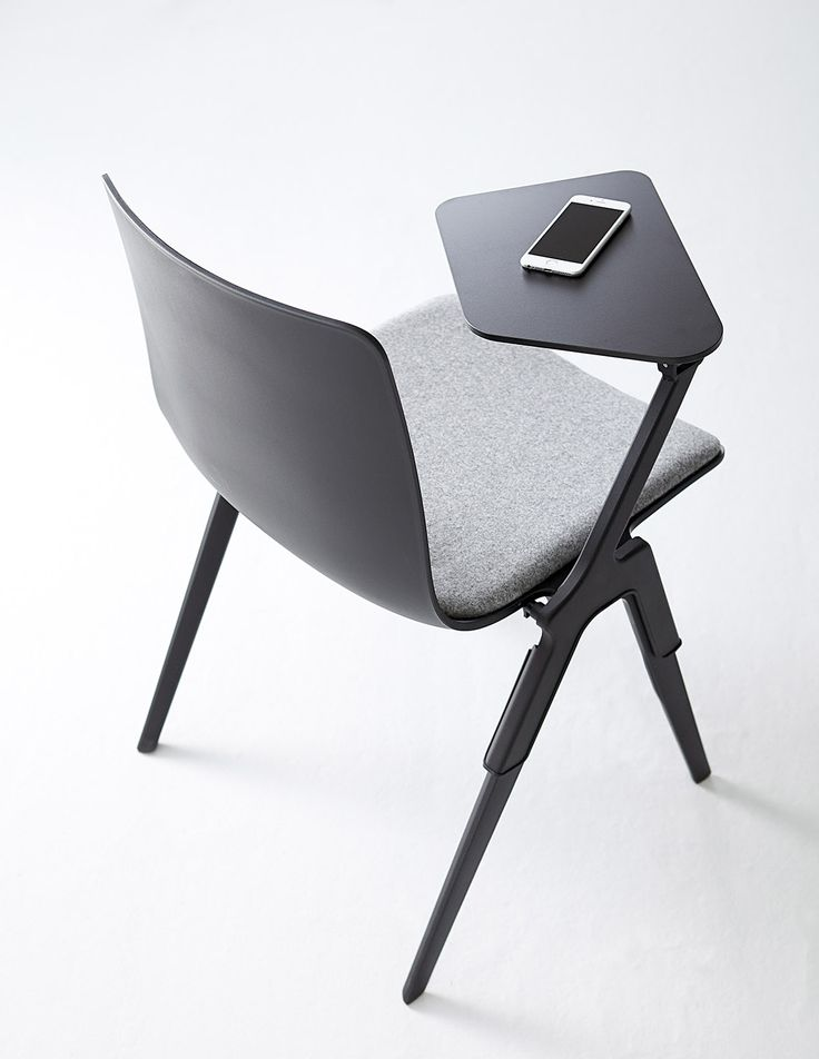 A-Chair from Davis Furniture - shown with removable tablet