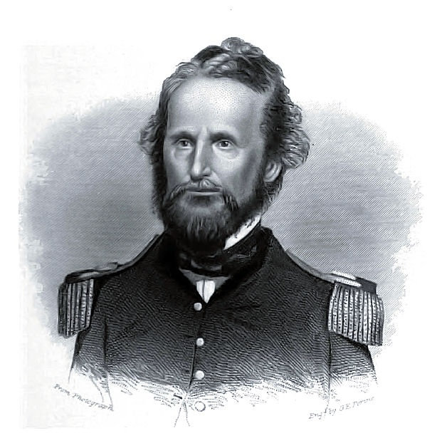 Nathaniel Lyon - the first Union general to be killed in the American Civil War and is noted for his actions in the state of Missouri at the beginning of the conflict. http://en.wikipedia.org/wiki/Nathaniel_Lyon