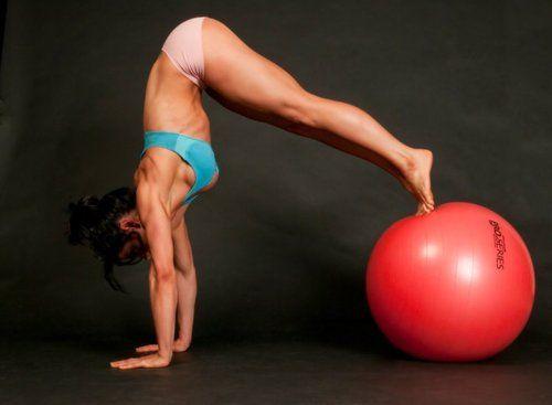 Wow.  Balance & Strength