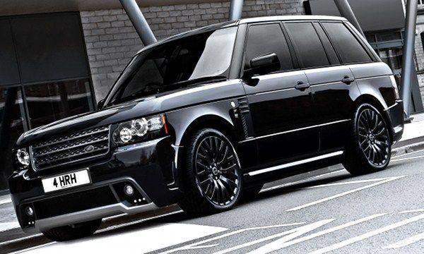 Kahn Design Range Rover Westminster Black Label Edition