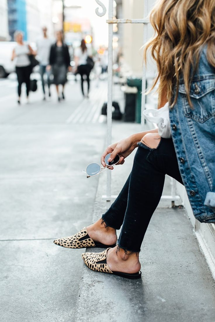 how to wear slides + the perfect leopard mules for fall!