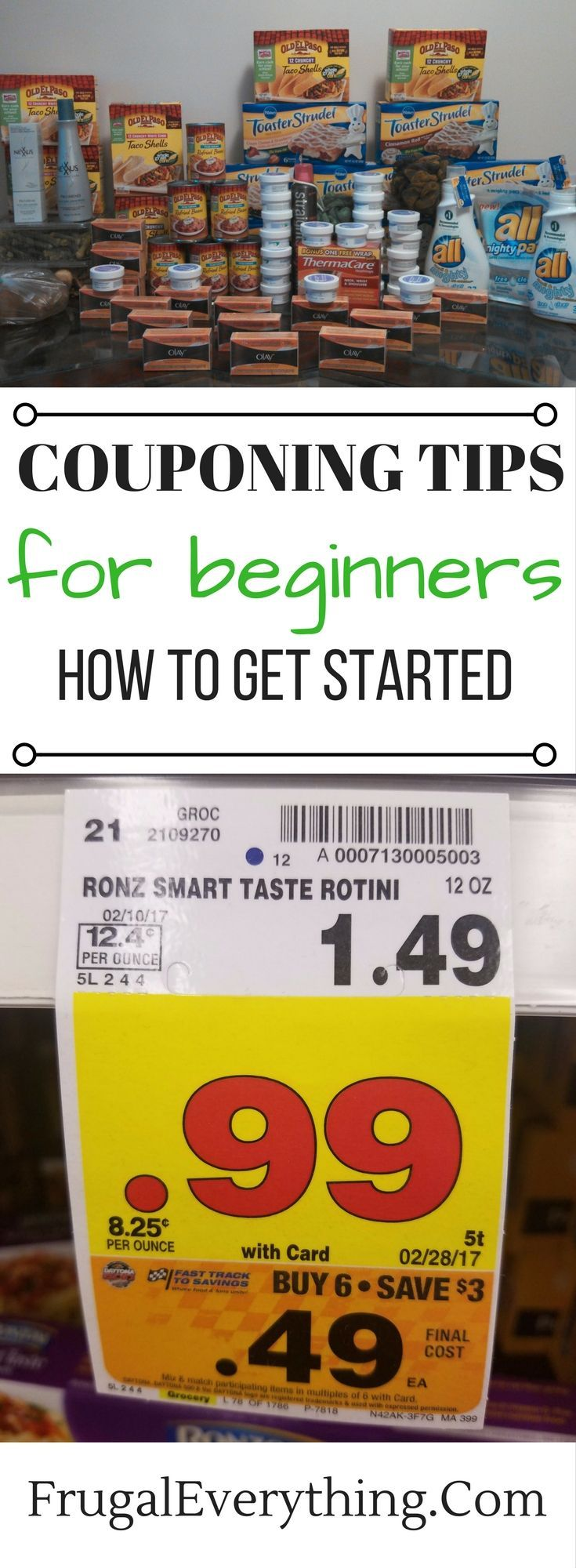 Couponing is a great way to save money!  Check out these couponing tips for beginners to get started today!