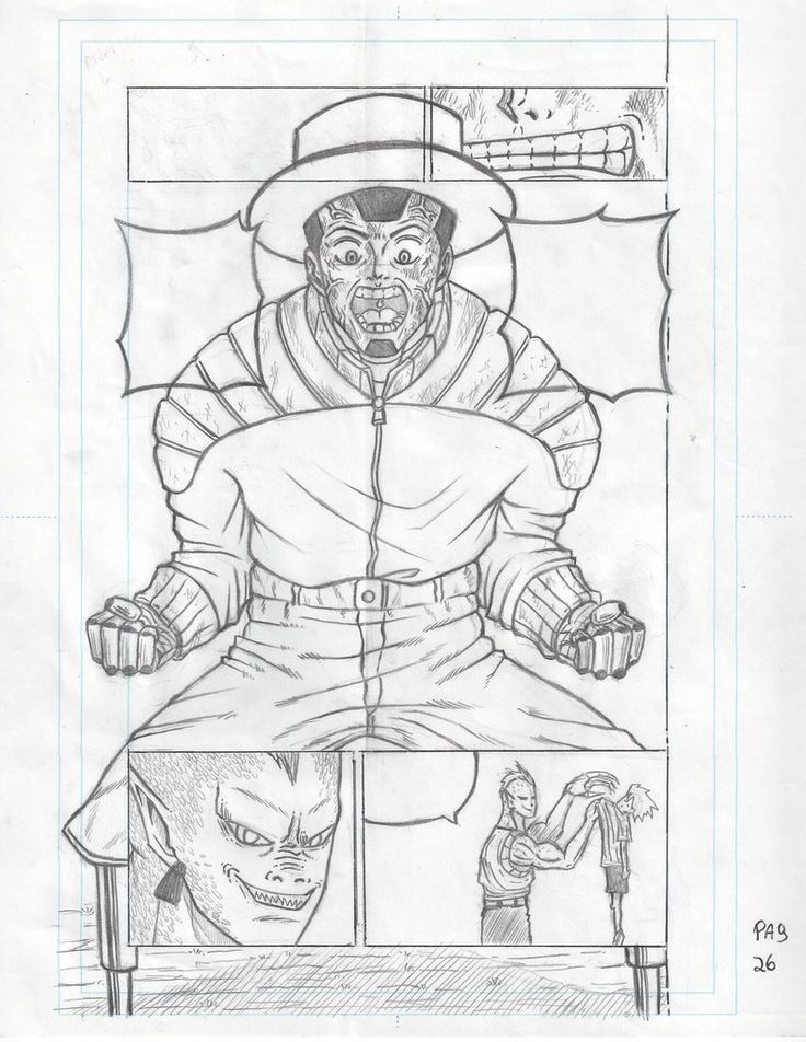 Manga page Wally Gaver - Tiger Ki by tigerto.deviantart.com on @DeviantArt
