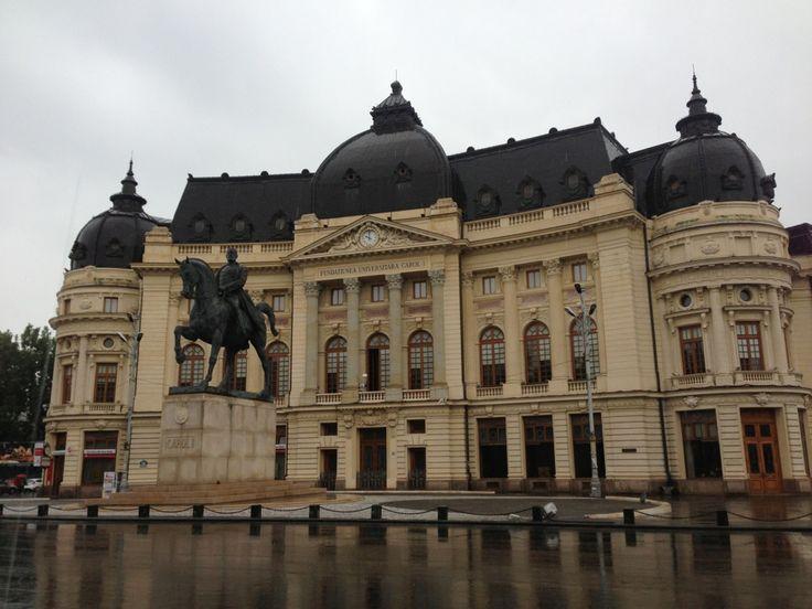 """Biblioteca Centrală Universitară """"Carol I"""" in București, București"""