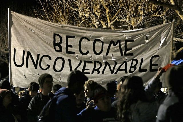 Foto Galeri: Kaliforniya Üniversitesi'nda Trump karşıtı eylem