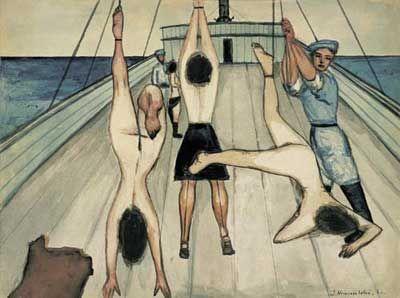 Jerzy Nowosielski | Kobiety na statku, 1953