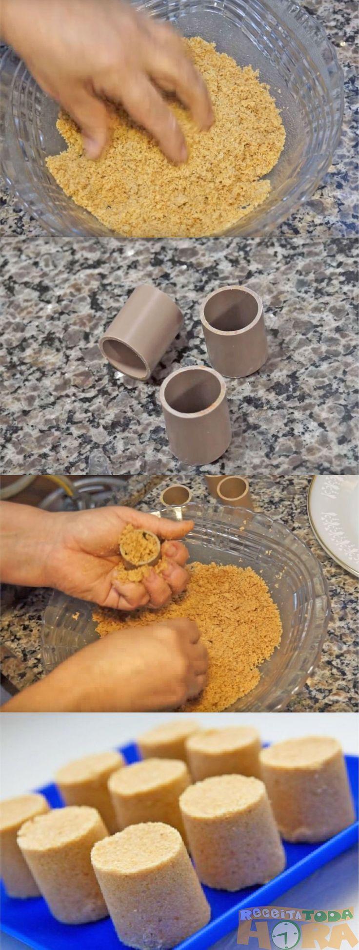 Paçoca Cortiça Caseira   – Ashrama