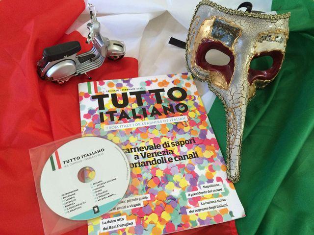 Tutto Italiano: Audio Rivista - from Italy for learners of Italian! | Studentessa matta