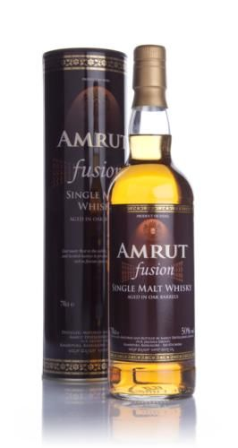 Jim Murray's Third Finest Whisky in the World for 2010, Amrut Fusion is distilled from barley from Scotland and India, making this a true fusion of countries.