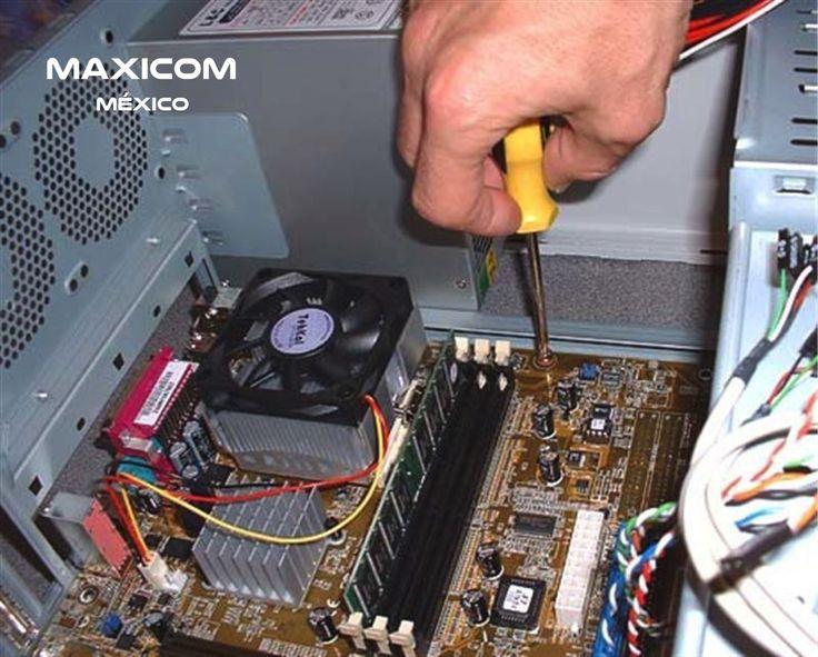 #soportetecnico SOPORTE TÉCNICO. Te brindamos servicio de mantenimiento a computadoras de escritorio y portátiles; limpieza y lubricación de partes móviles, así como verificación y ajuste de piezas internas como disco duro, memoria RAM y tarjeta madre. En Maxicom México, te invitamos a solicitar informes de nuestros servicios. info@maxicom.com.mx Tel. 53300661.