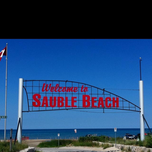 Sauble Beach, Ontario.