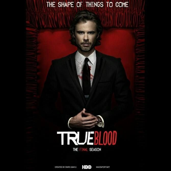 True Blood Season 7 - promo poster for the final season 2014