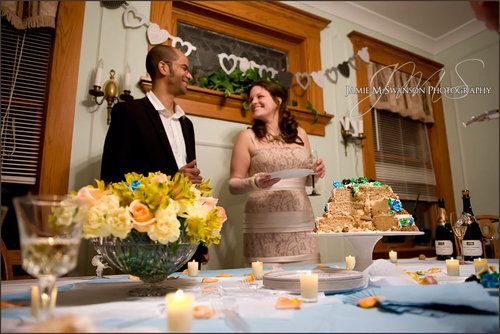 Cake And Punch Reception Decor : 17 Best images about Cake and Punch Wedding on Pinterest Receptions, Punch and Wedding reception