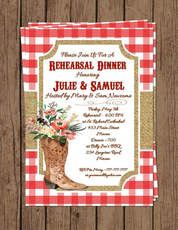 DIY Printable Wedding Rehearsal and Dinner by PerfectedbyGrace
