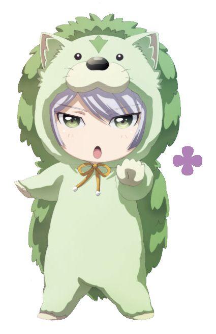 Kinshiro dressed as Zundar - Binan Koukou Chikyuu Bouei-bu LOVE!