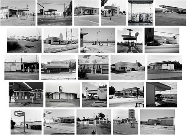 Edward Ruscha, Twentysix Abandoned Gasoline Stations