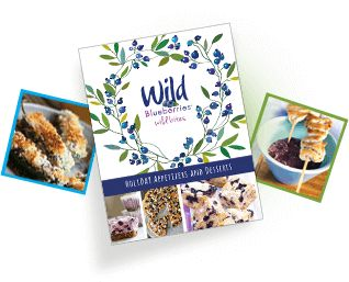 Cover of the Eat, Drink and be Wild Holiday Recipe Book