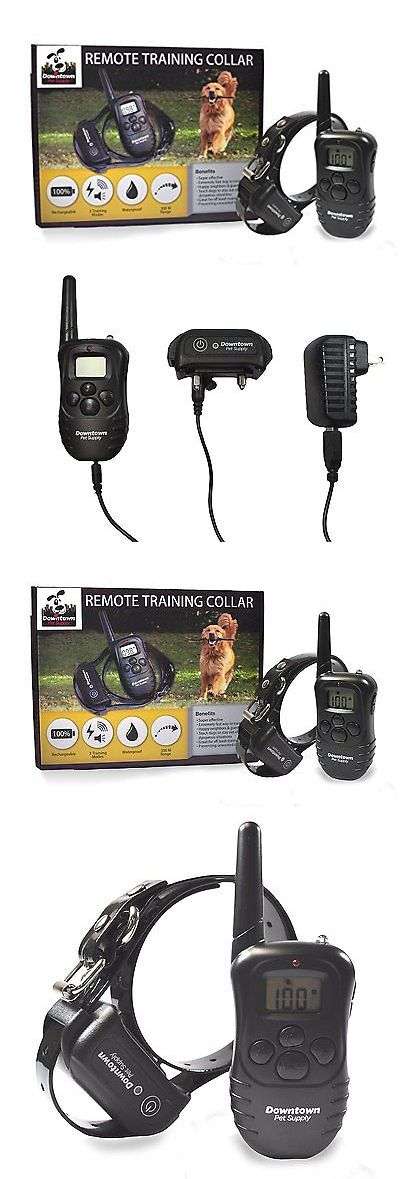 Bark Collars 66774: New Downtown Pet Rechargeable Remote Control Dog Training Collar W Vibration -> BUY IT NOW ONLY: $31.99 on eBay!