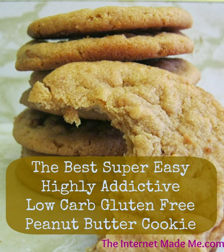 Saving In Ottawa: The Best Super Easy Highly Addictive Low Carb Gluten Free Peanut Butter Cookie!