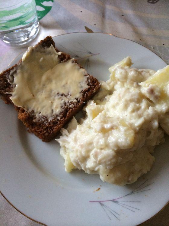 Traditional icelandic dessert