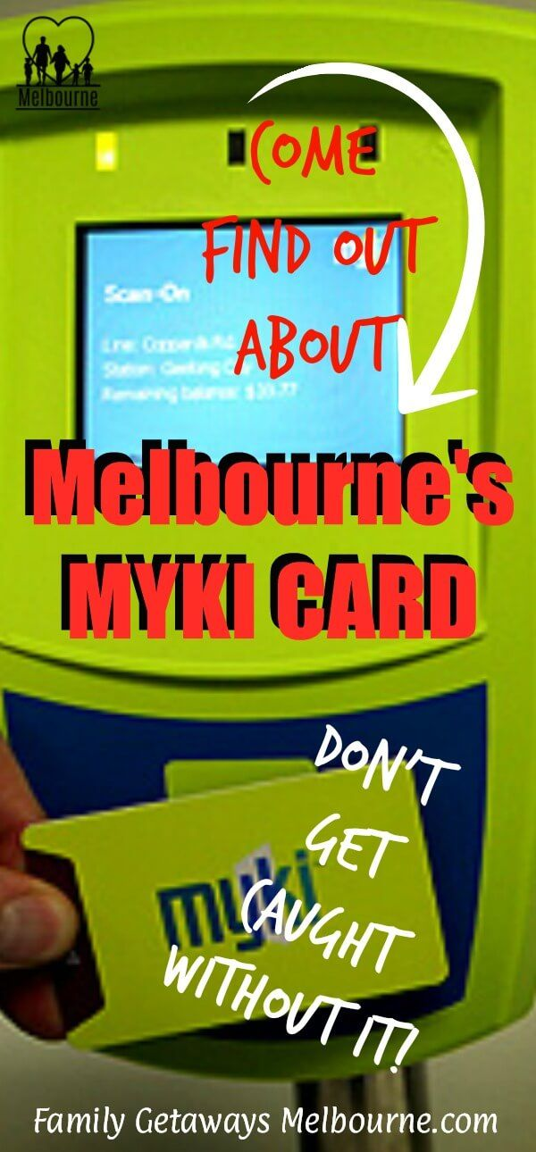 The Metcard has been replaced by the MKKI card. Click here for more information on what you must now use on Melbourne's public transportation sysyem