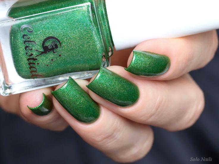 Celestial Cosmetics Break Of Day, Key Lime Pie | Solo Nails