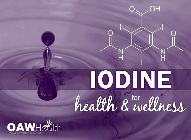Using iodine for health is not something new. In fact, iodine is needed for every tissue in the body and is utilized by every hormone receptor in the body.