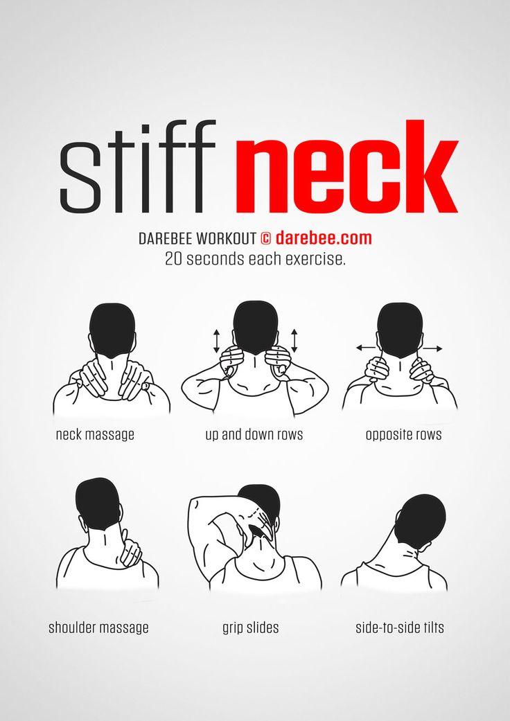 Stiff Neck Workout. www.bacrac.co.uk/